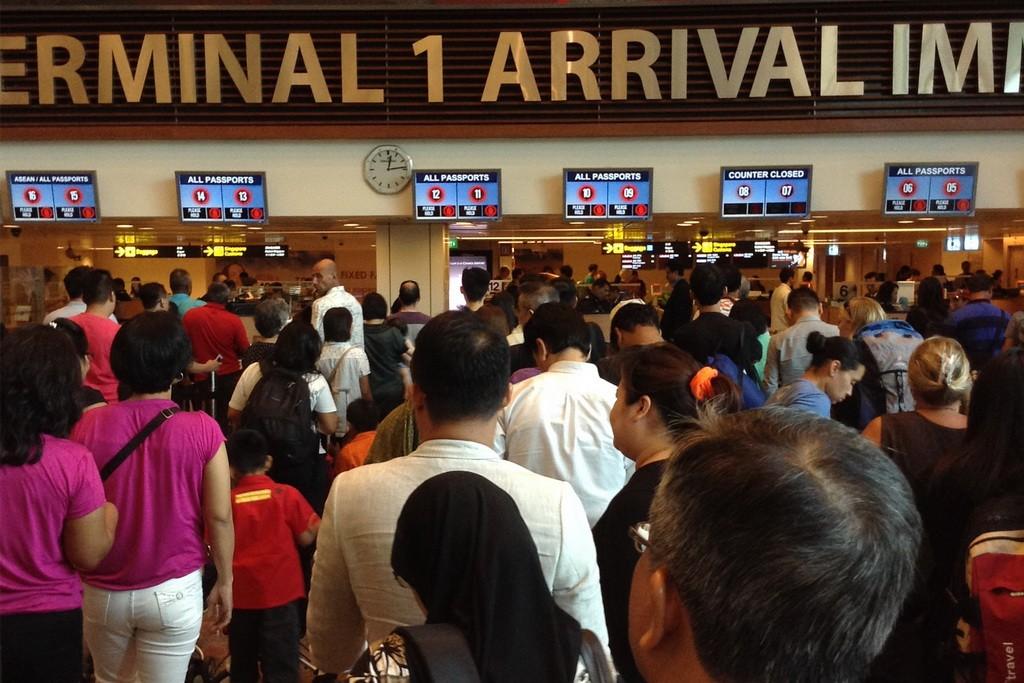 Сингапур. Аэропорт Чанги.