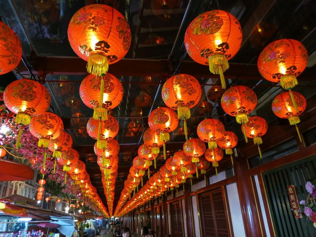 Сингапур. Вечерний ЧайнаТаун.