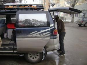 Доставка на горнолыжную базу Каракол.