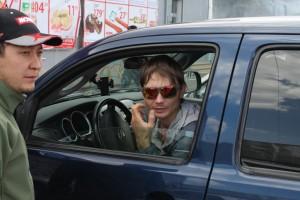 Андрей и Серик. Автогонщики из Киргизии.