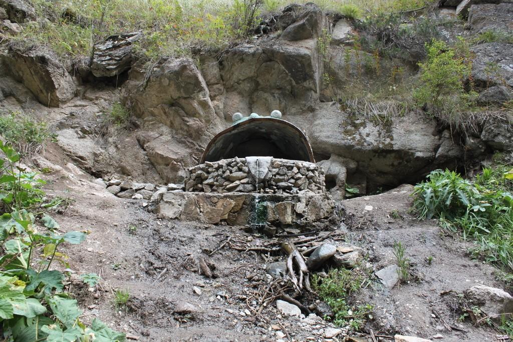 Алтын Арашан. Горячий источник Лягушка.