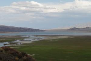 Киргизия. Орто-Токойское водохранилище.