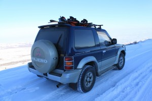 Киргизия. По дороге на горнолыжную базу Ак-Таш.