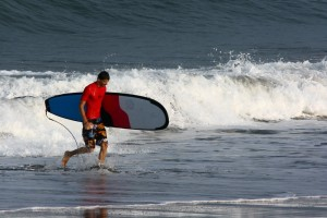 Серфинг на Бали.