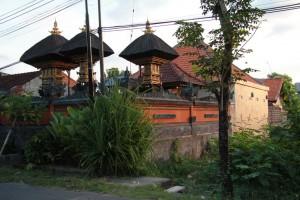 Обычный дом в балийском стиле.