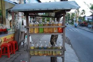 Заправки на Бали.