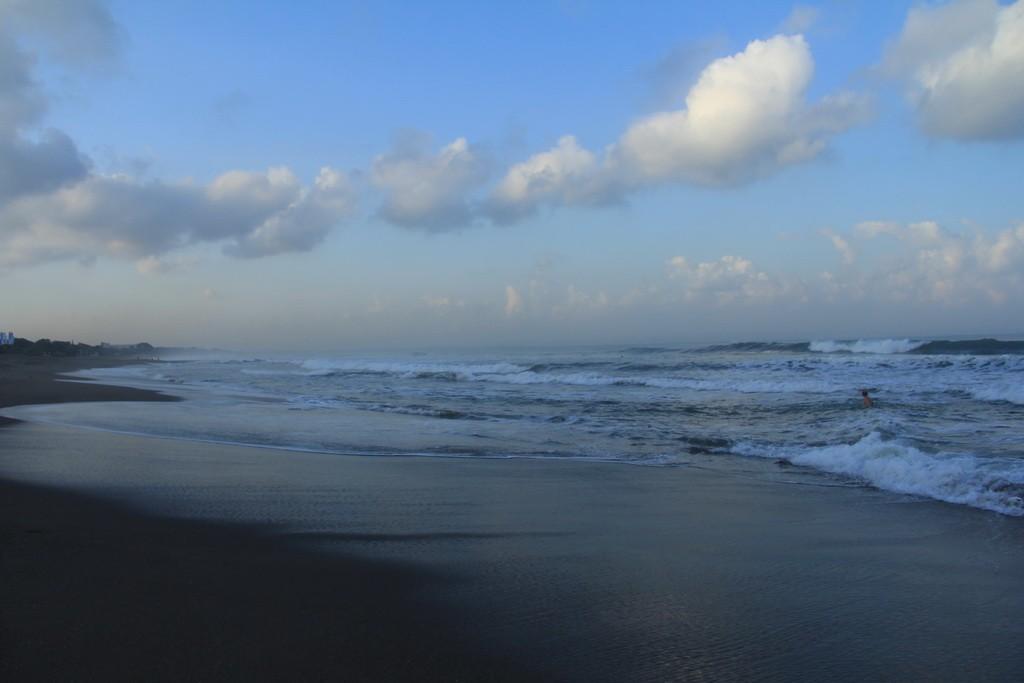 Бали. Пляж Берава в Чангу.