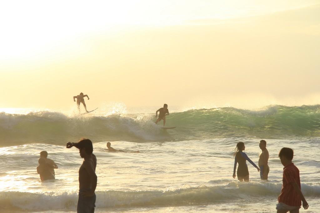 Индонезия. Серфинг на Бали.