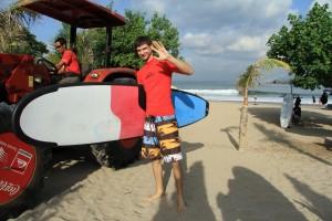 Бали. Серфинг в Куте.
