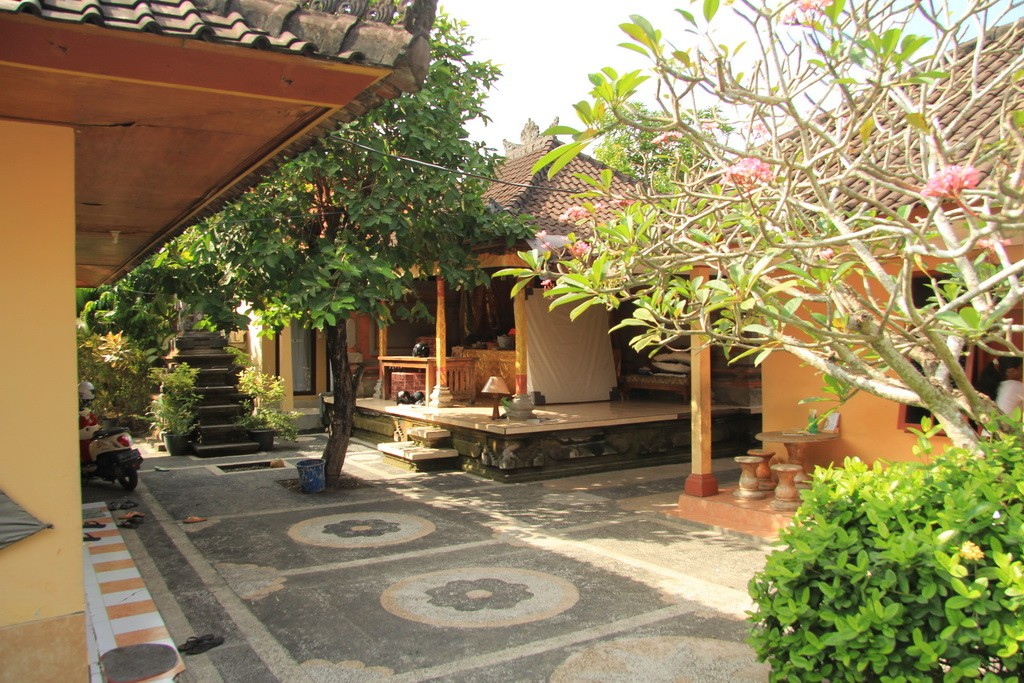 Бали. Гестхаус в Чангу.