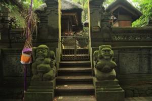 Убуд. Ворота в храм леса обезьян.