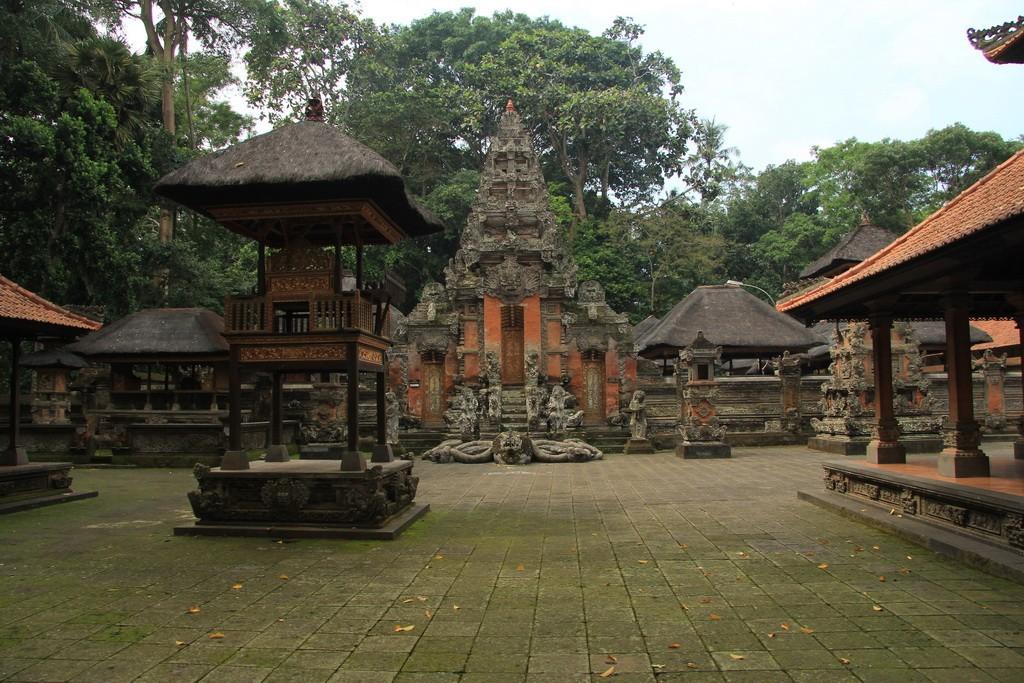 Величественные ворота в пуру леса обезьян.