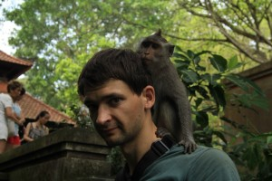 Как я подвергся нападению обезьян.