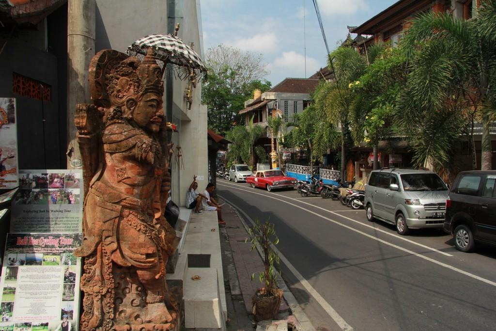 Бали. Дивные улицы Убуда.