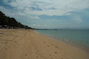 Бали. Пляж Нуса Дуа.