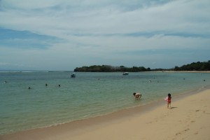 Полуостров Букит. Пляж Нуса Дуа.