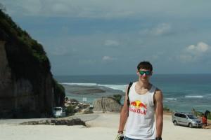 Бали. TripTurista на пляже Пандава.