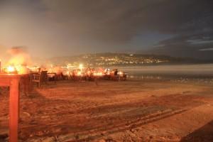 Бали. Рестораны на пляже Джимбаран.