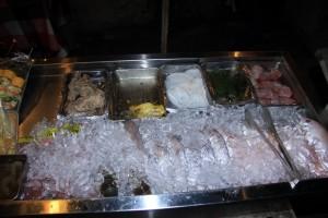 Бали. Свежая рыба в Джимбаране.
