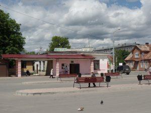 Автовокзал города Печоры.