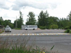 Автостанция Изборск.