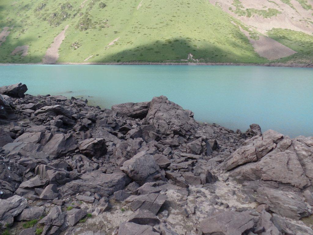 Озеро Кель-Тор в Кегеты.