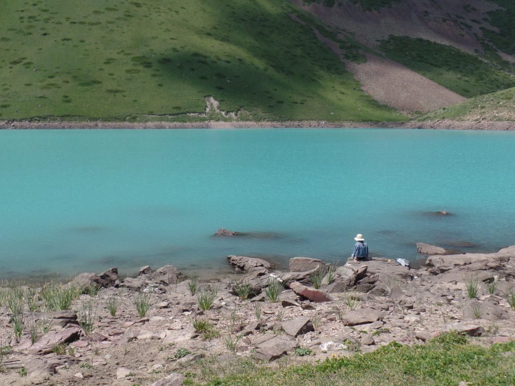 Кыргызстан. Озеро Коль-Тор.
