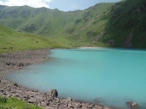 Красивые озера Кыргызстана.