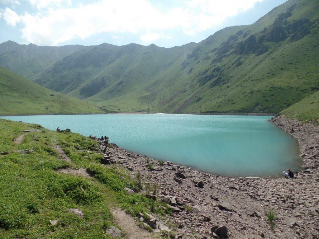 Высокогорные озера Кыргызстана.