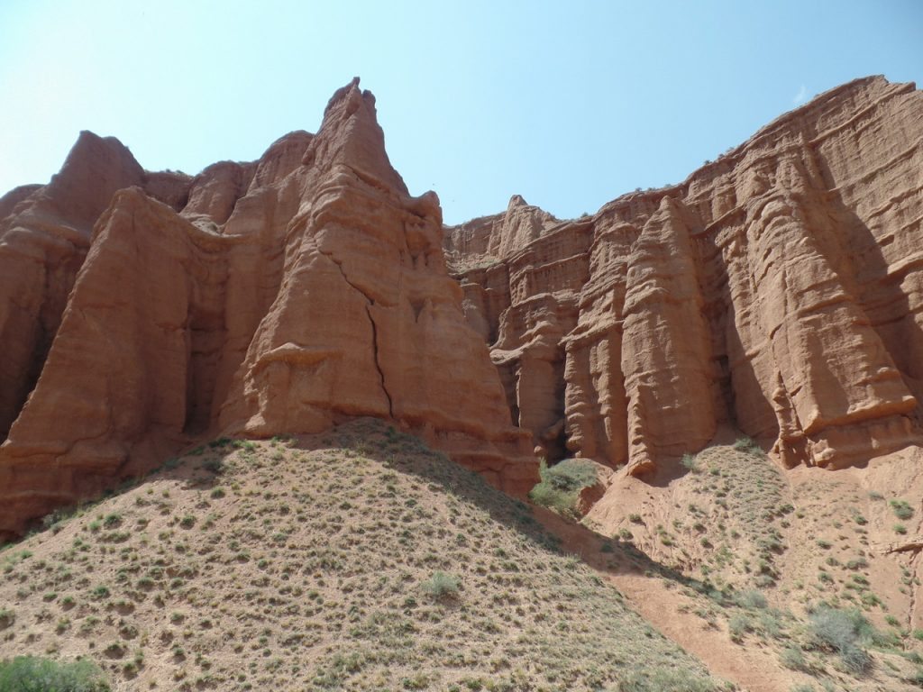Киргизский Гранд Каньон.