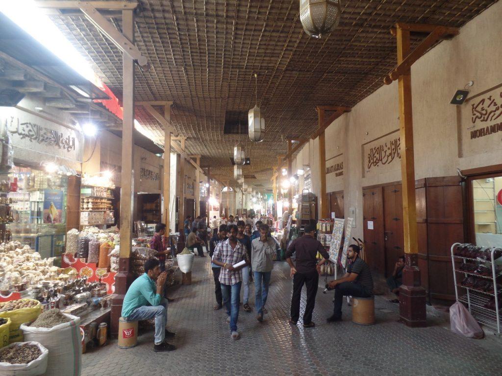 Голд Сук и рынок специй в Дубае
