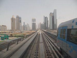 Дубайское метро.