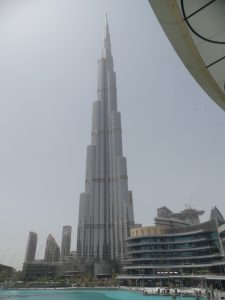 Дубай. Бурдж Халифа.