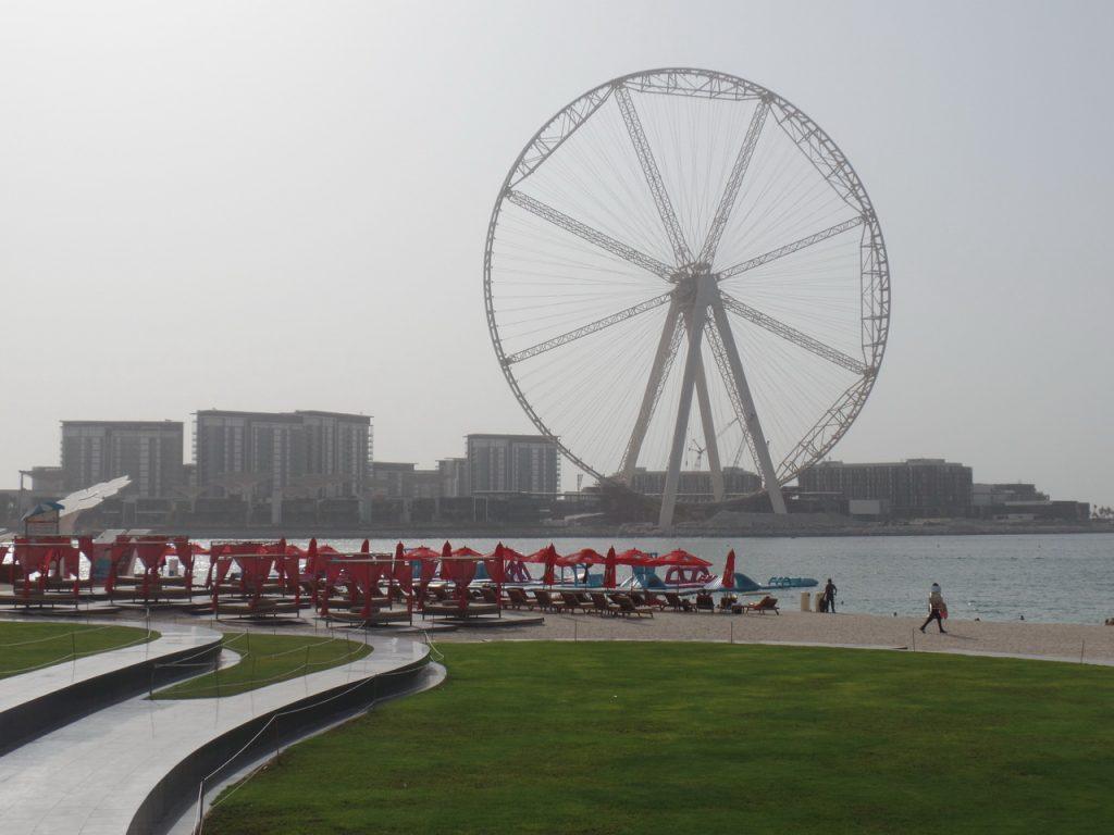Пляж JBR Джумейра. Дубай