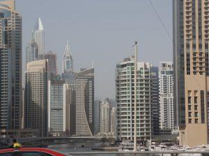 Яхты в заливе Дубай Марина