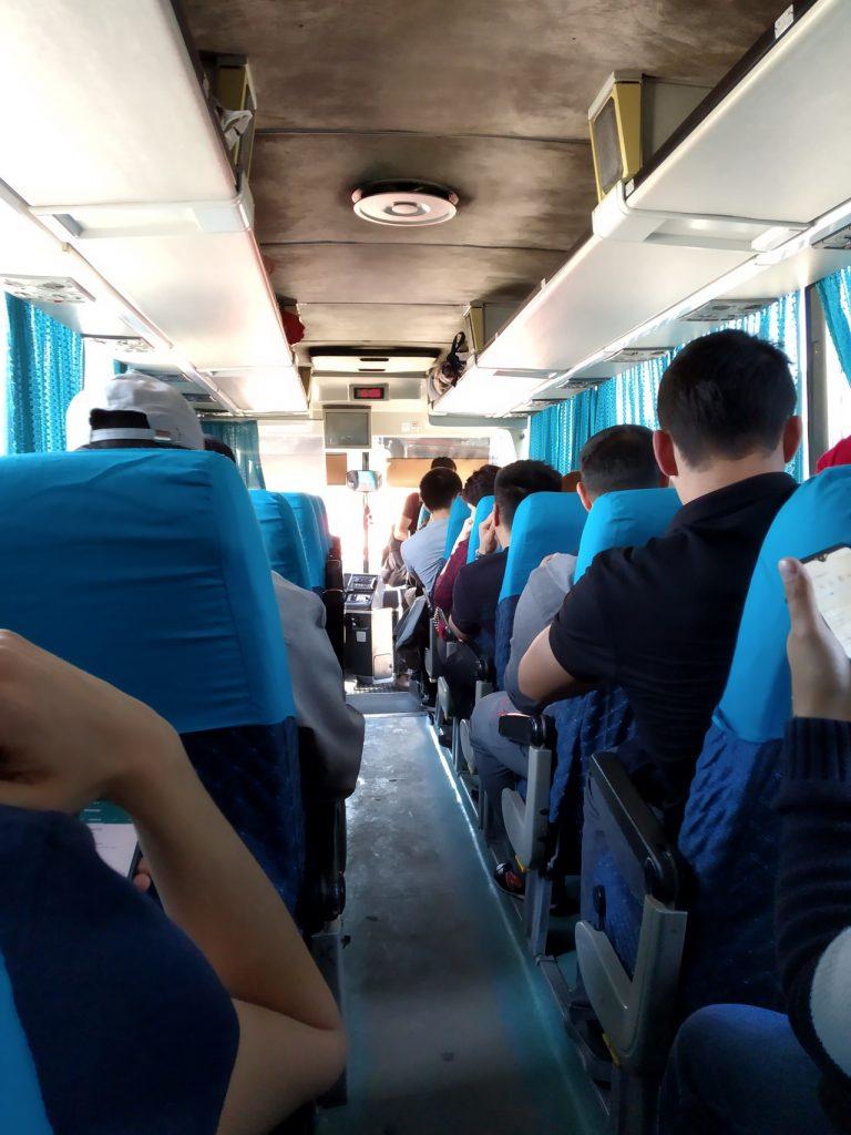 Рейсовый автобус в Узбекистан