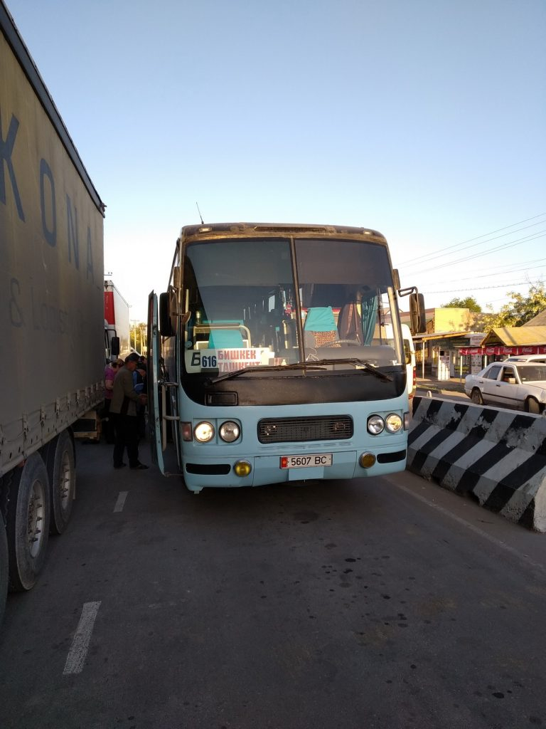 Автобус Бишкек-Ташкент