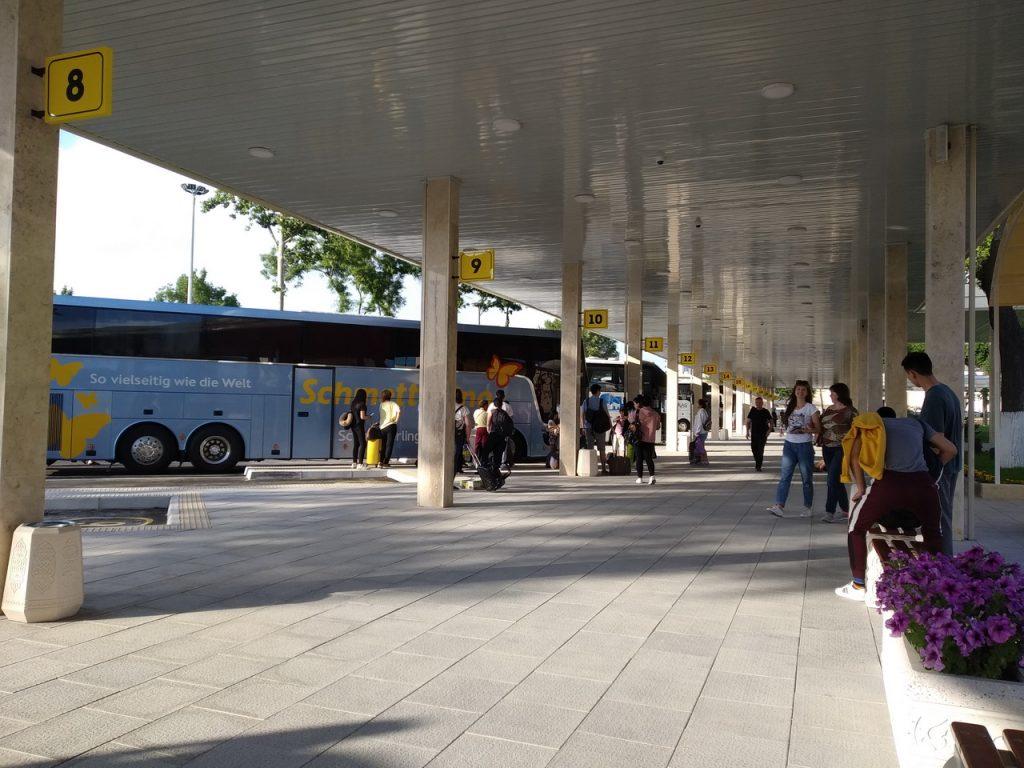 Ташкент. Новый современный автовокзал.
