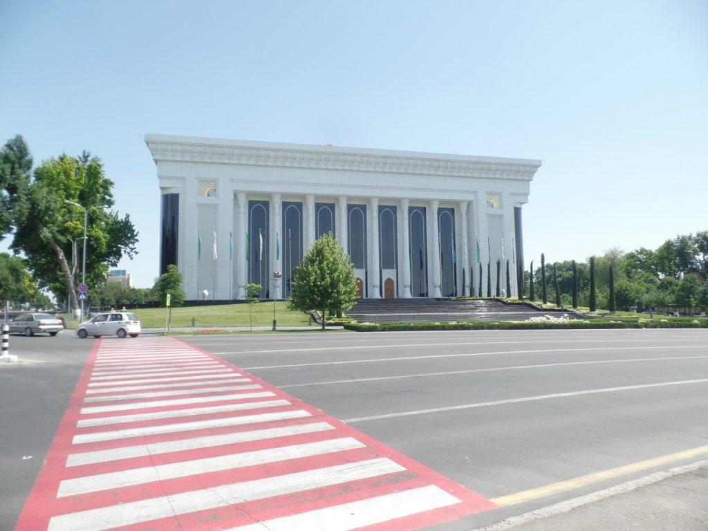 Дворец Форумов в Ташкенте.