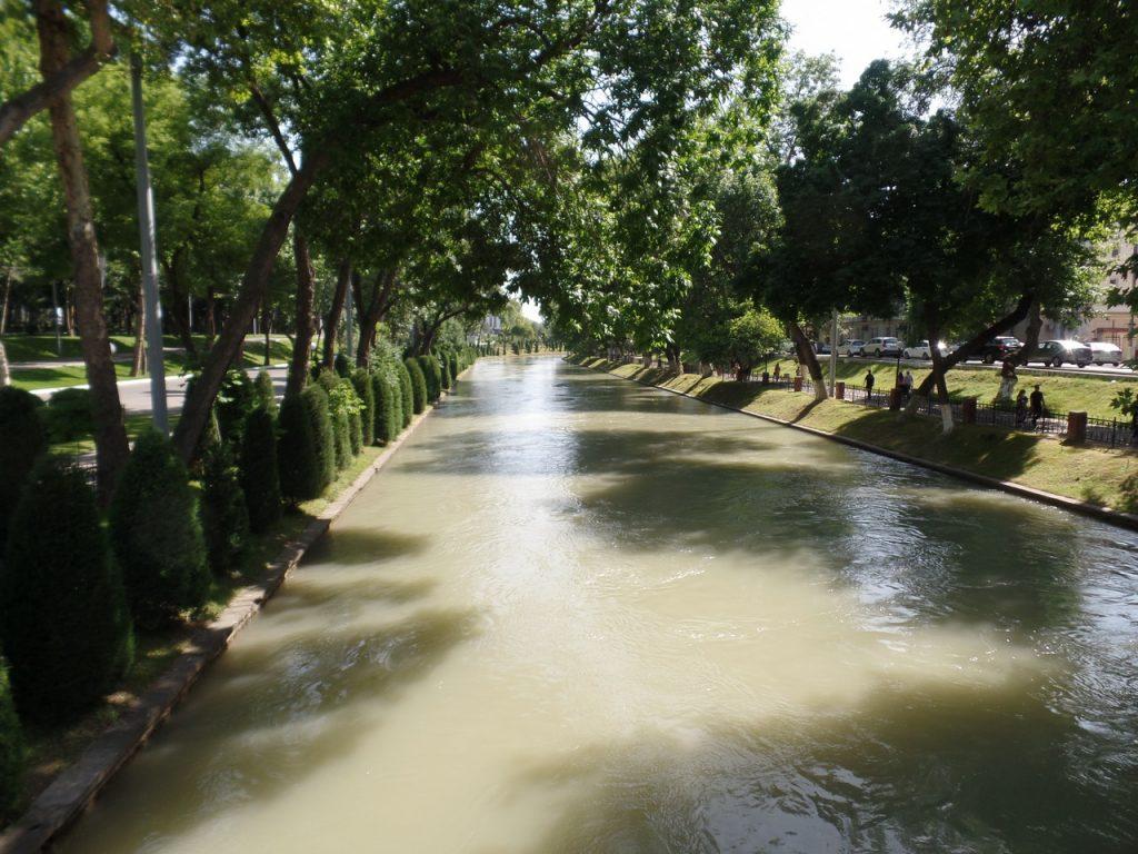 Чистый и ухоженный Ташкент.