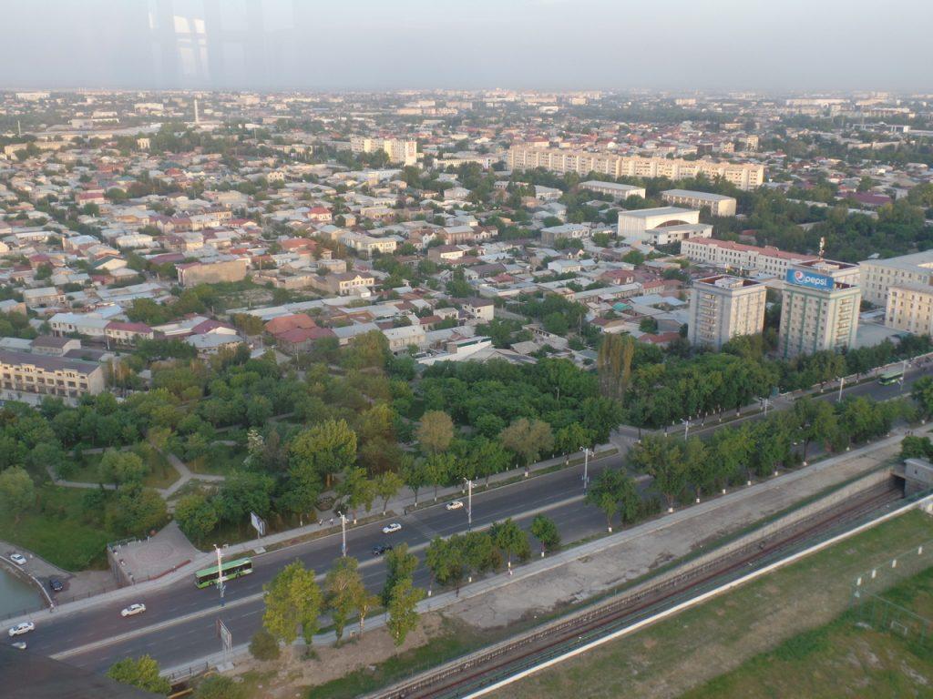 Панорама Ташкента.