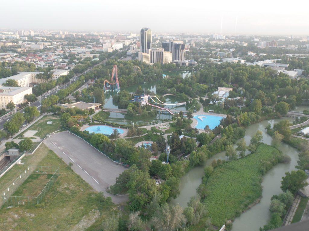 Ташкент с высоты птичьего полета.