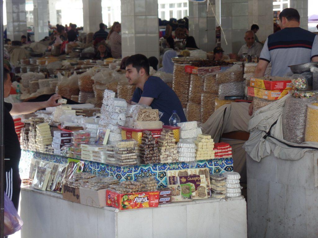 Базар в Самарканде