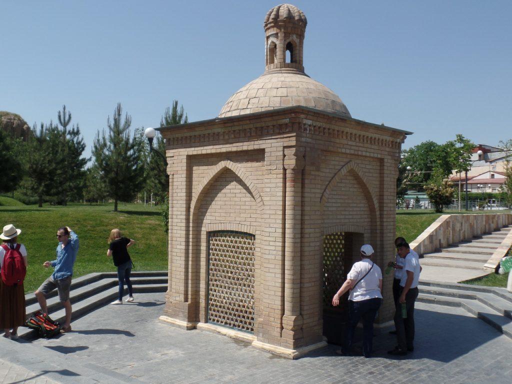 Святой источник в Самарканде