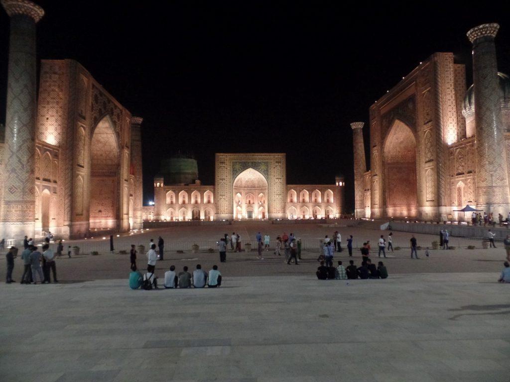Подсветка Регистана