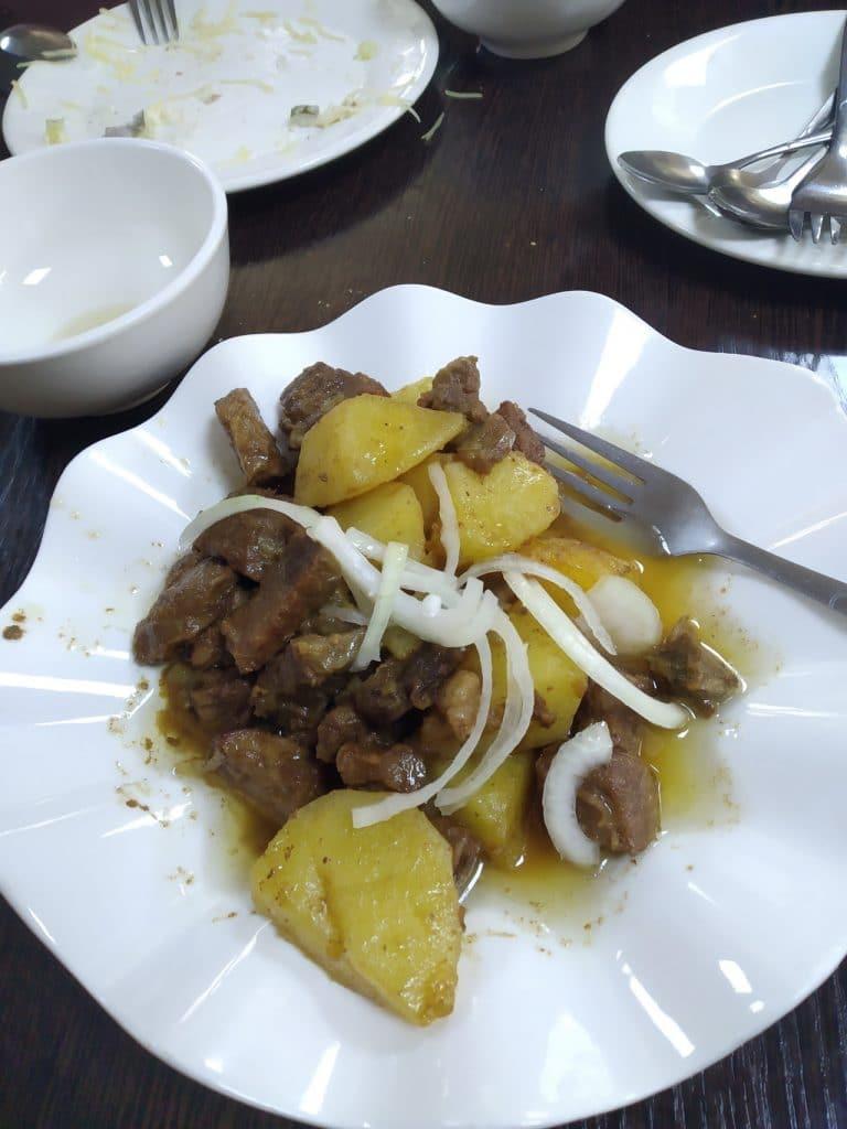 Куурдак - кыргызское национальное блюдо.