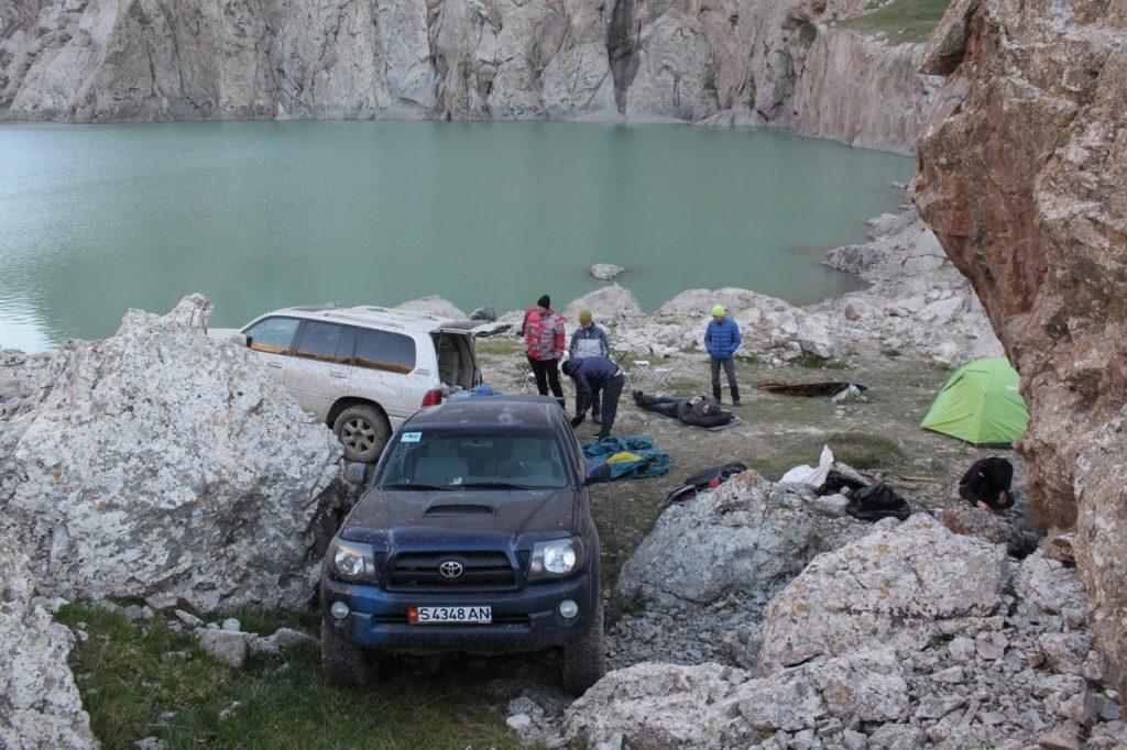 Лагерь на берегу КельСуу.