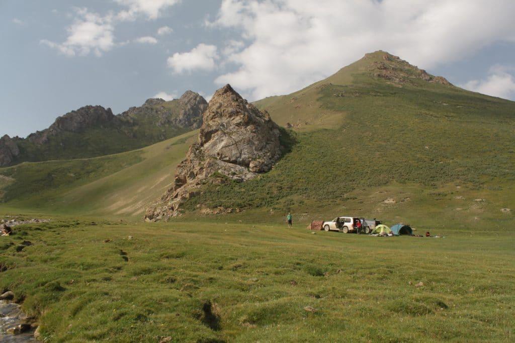 Киргизия. Красоты Таш-Рабата.