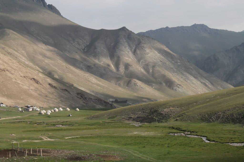 Киргизия. Великий шелковый путь.