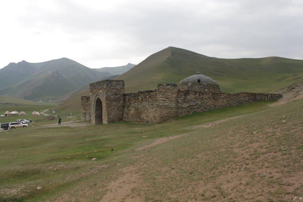 Караван-сарай  Таш-Рабат